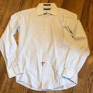 Youth boys Michael Kors long sleeve dress shirt